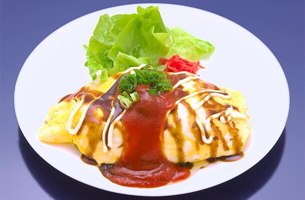 Yakisoba Omelette