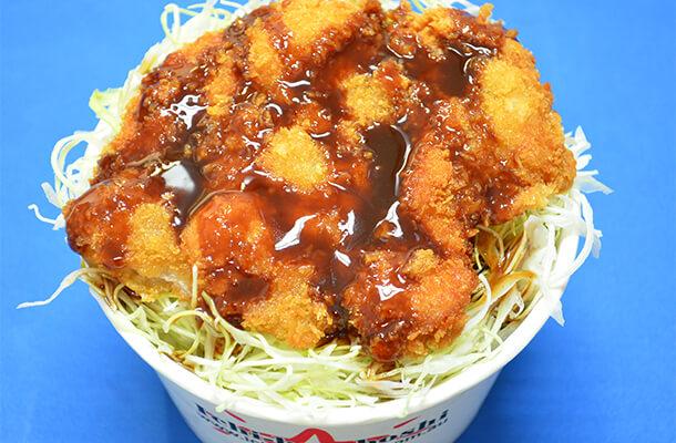Chicken Sauce Katsu-don