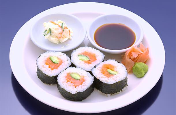 Salmon Sushi Roll [4]